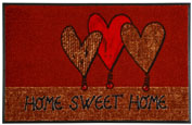 Home Sweet Home 50x75 cm, wash+dry